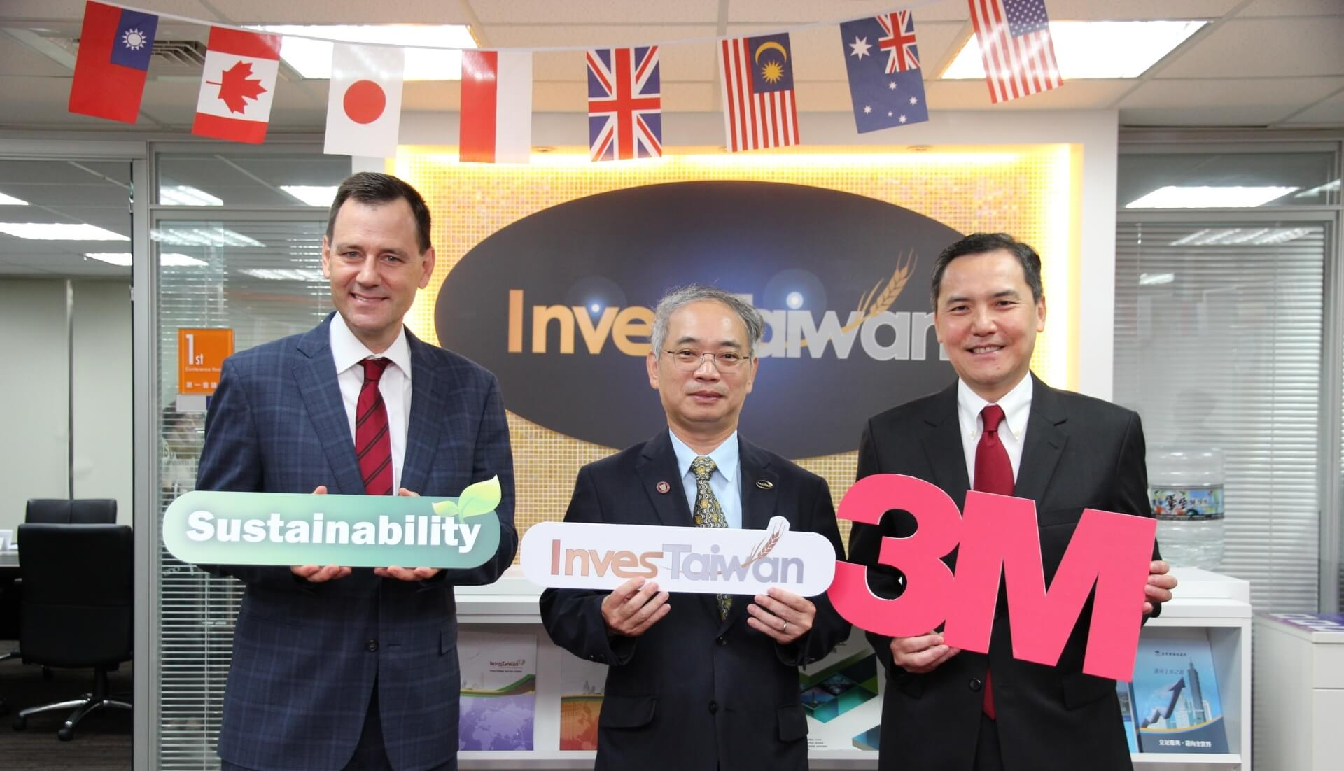 Signing Ceremony of Memorandum of Understanding On Investment Cooperation Between InvesTaiwan And 3M Taiwan Ltd. photo-2